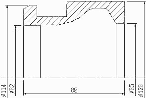 schutte sf26 af26 sleeve s9/002 c3210a-22z dimensions