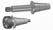 Drill Holders for ER Collets - ISO 25 Type