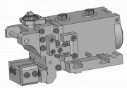 Shaving Tool Holders with Modular Base for Axial Adjustment - TS Type