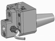 Push Type Recessing Unit - ISO 40 Shank