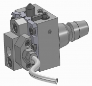 Push Type Recessing Unit - ISO 25 Shank