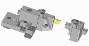 Turret and Modular Part-Off Tool Holder for Empire Blade or Square Tool Bit