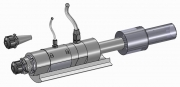 Counter Rotating Spindle with Through Coolant System - ISO 30 Shank